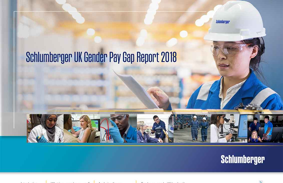 2018 Schlumberger UK Gender Pay Gap Report