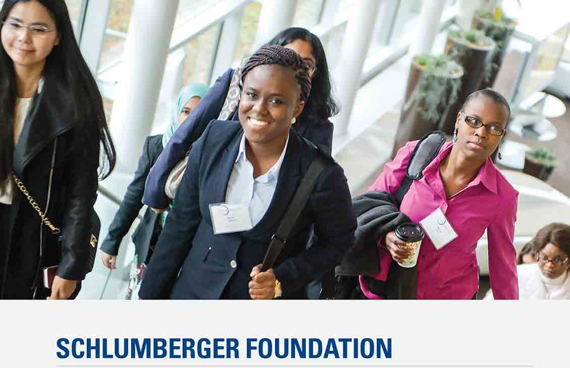 Schlumberger Foundation 2015 Annual Report Cover