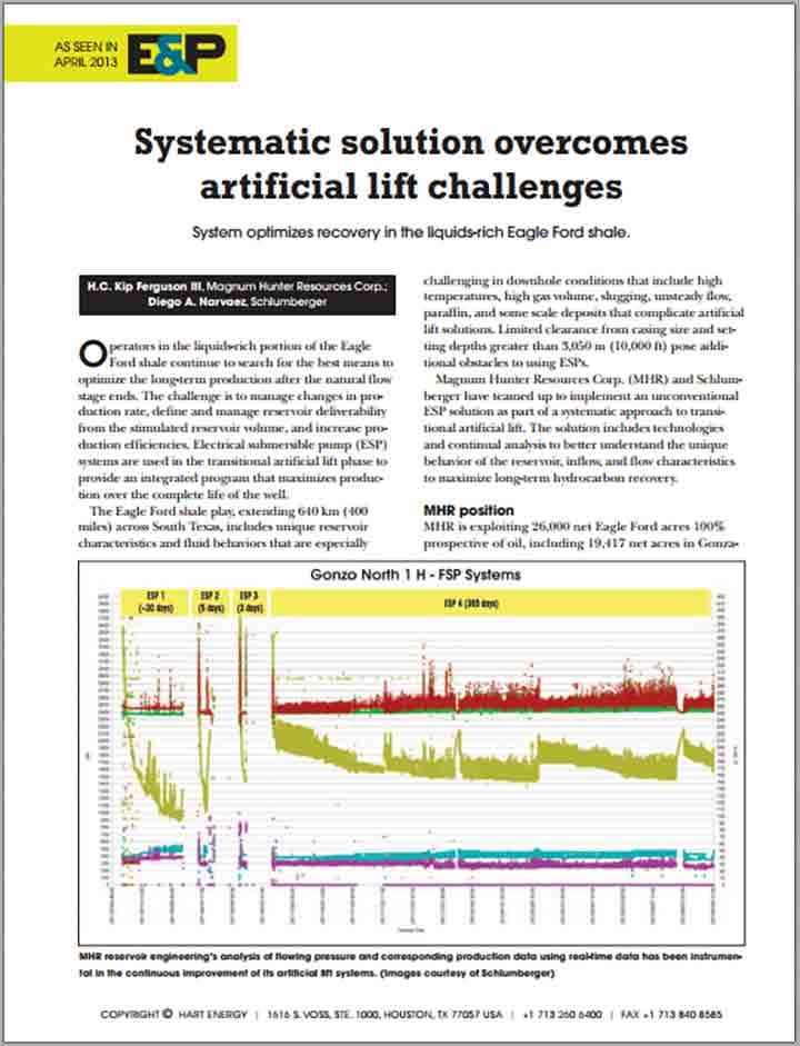 Systematic Solution Overcomes Artificial Lift Challenges