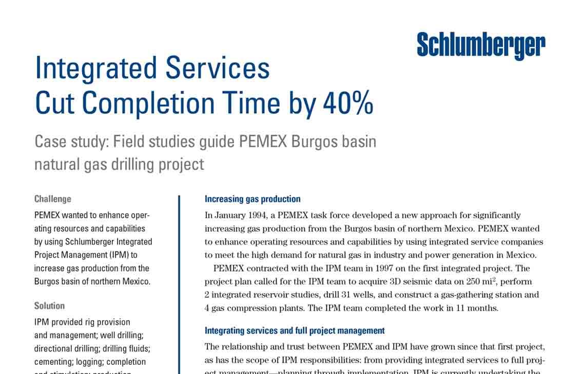 Field Studies Guide PEMEX Burgos Basin Natural Gas Drilling Project