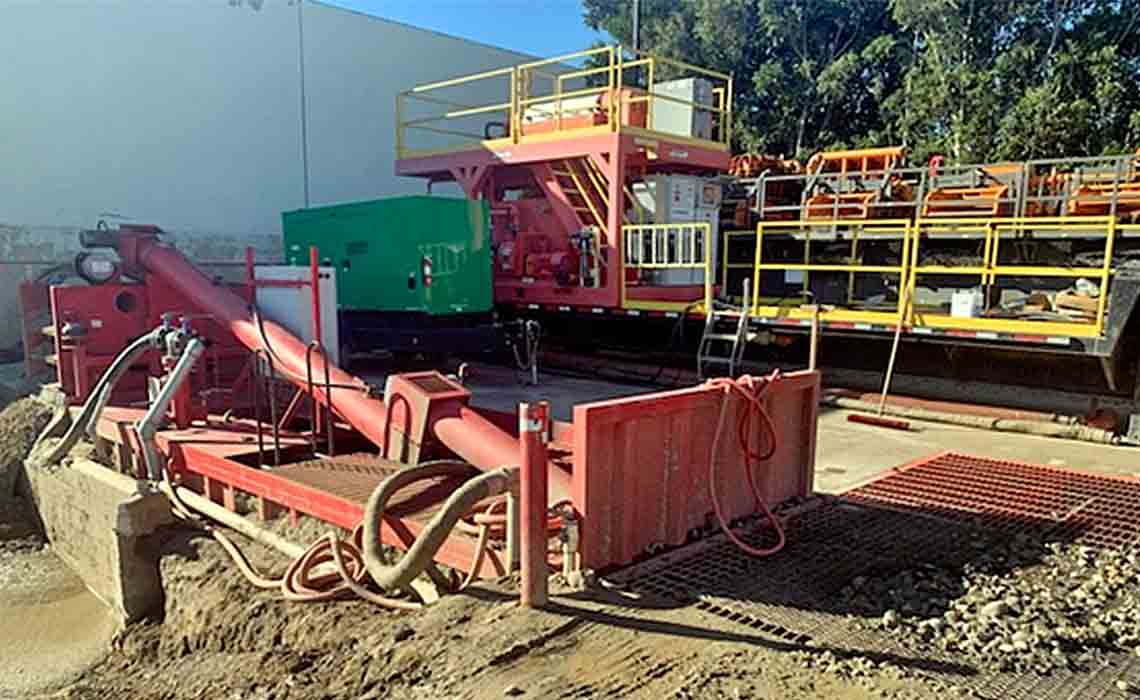California Boring reduced wastes by 32% using an M-I SWACO enhanced fluid recycling solution.