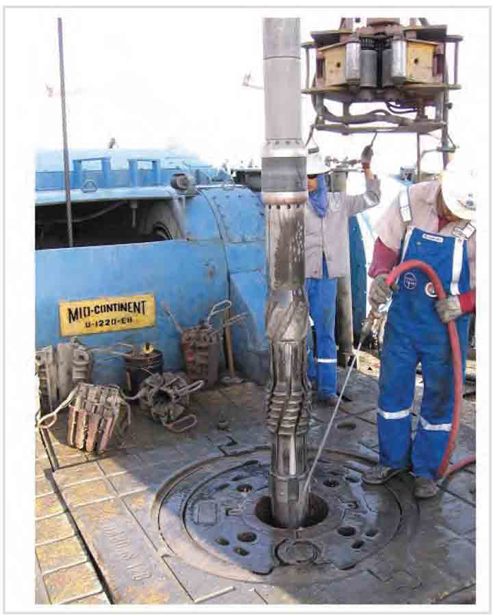 WELL COMMISSIONER Makes Drilling Cement, Shoe Tack on Inflow Test Run Routine in Saudi