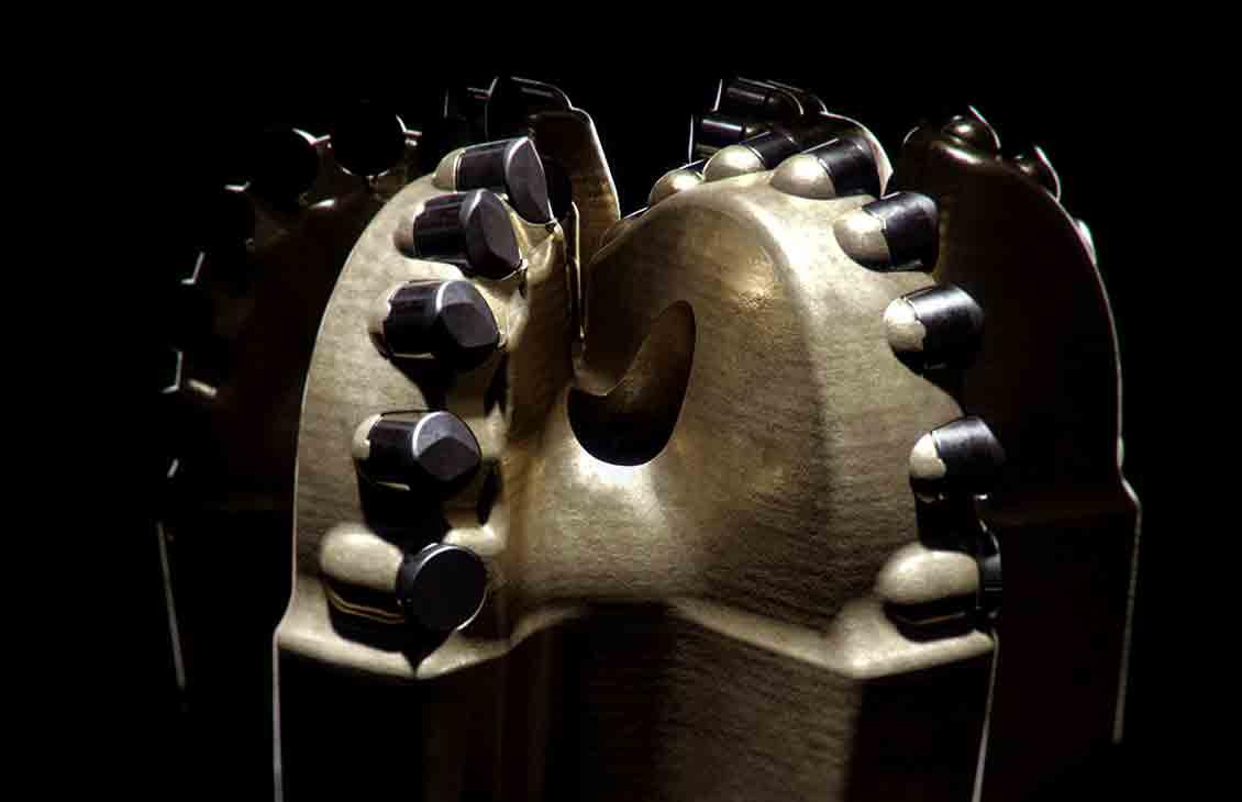 Image of StrataBlade concave diamond element bit