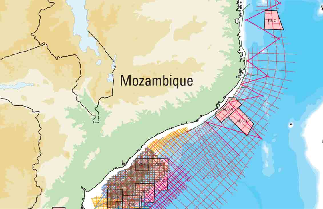 Mozambique—More than 110,000 km in Frontier Area