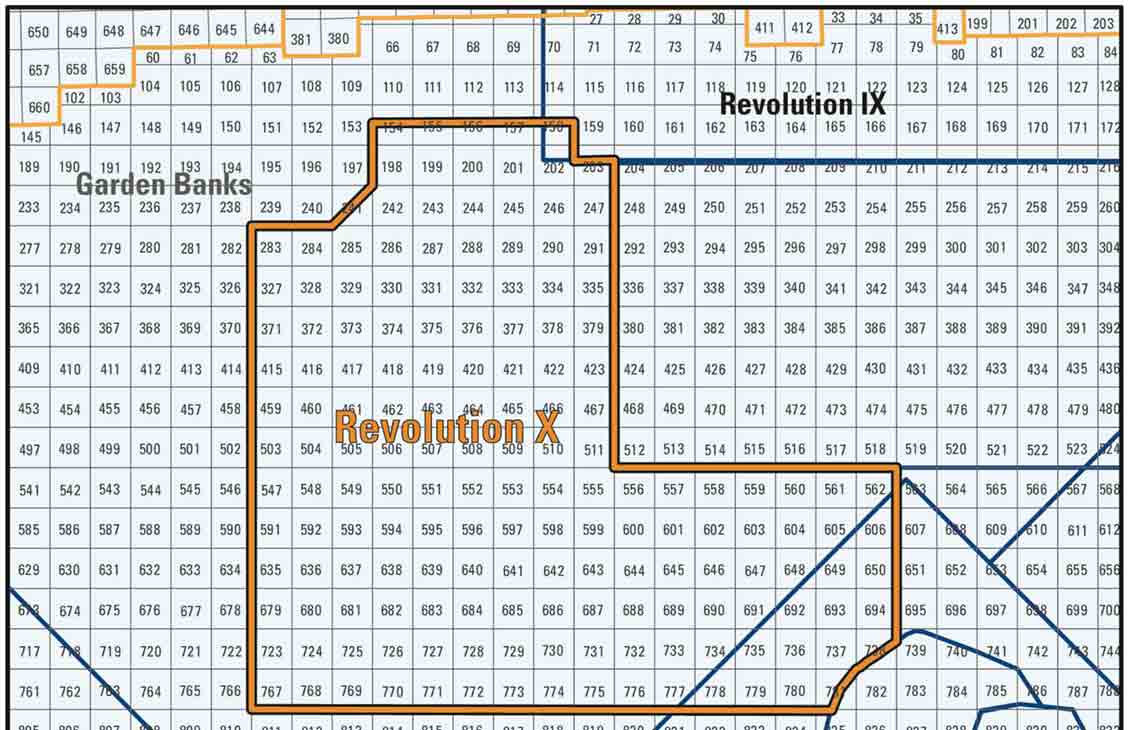 Revolution X Full-Azimuth Seismic Survey