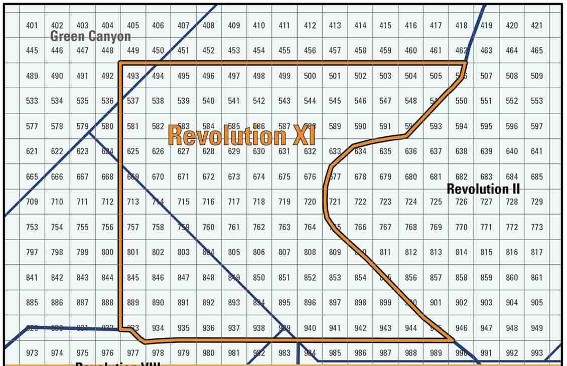 Revolution XI Full-Azimuth Seismic Survey