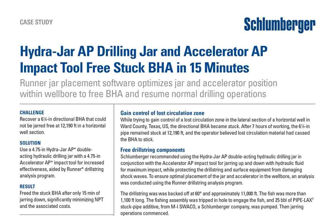 Hydra-Jar AP Drilling Jar and Accelerator AP Impact Tool Free Stuck