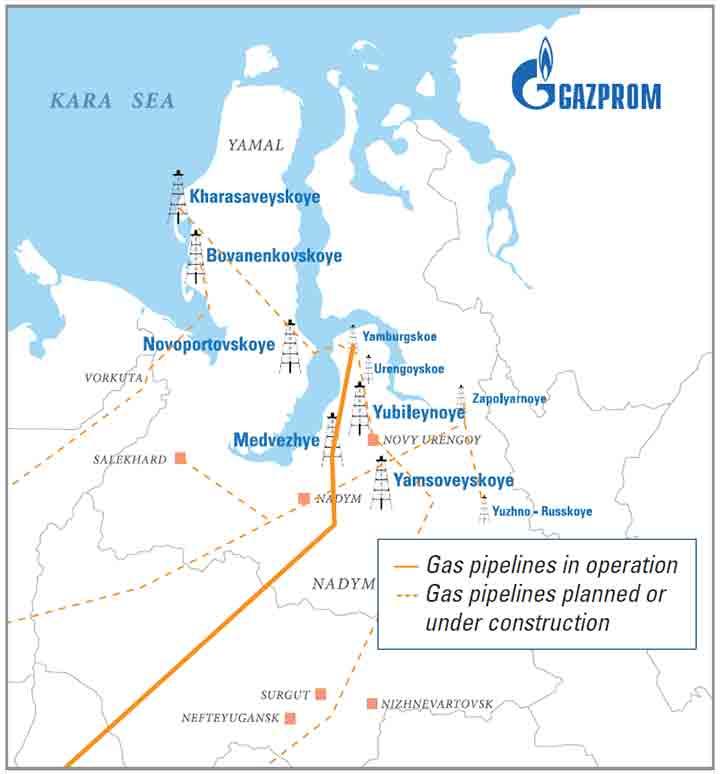 Gazprom Dobycha Nadym Responds to the Challenge of World Gas Demands