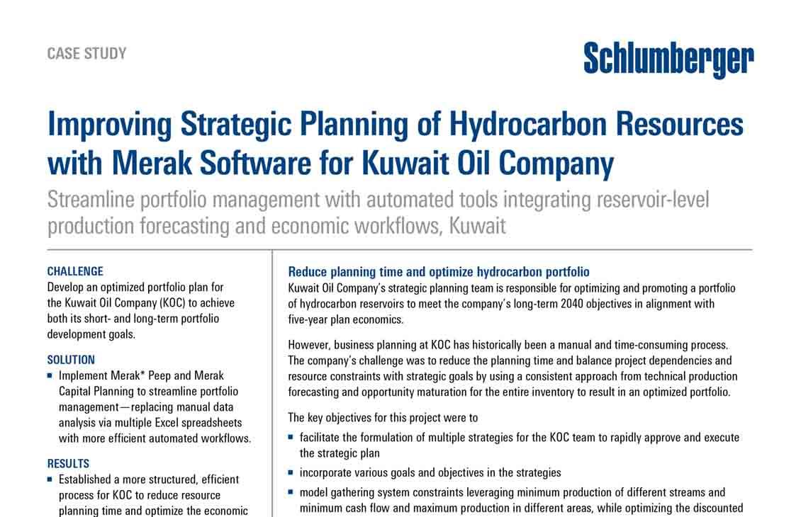 Kuwait Oil Company Address