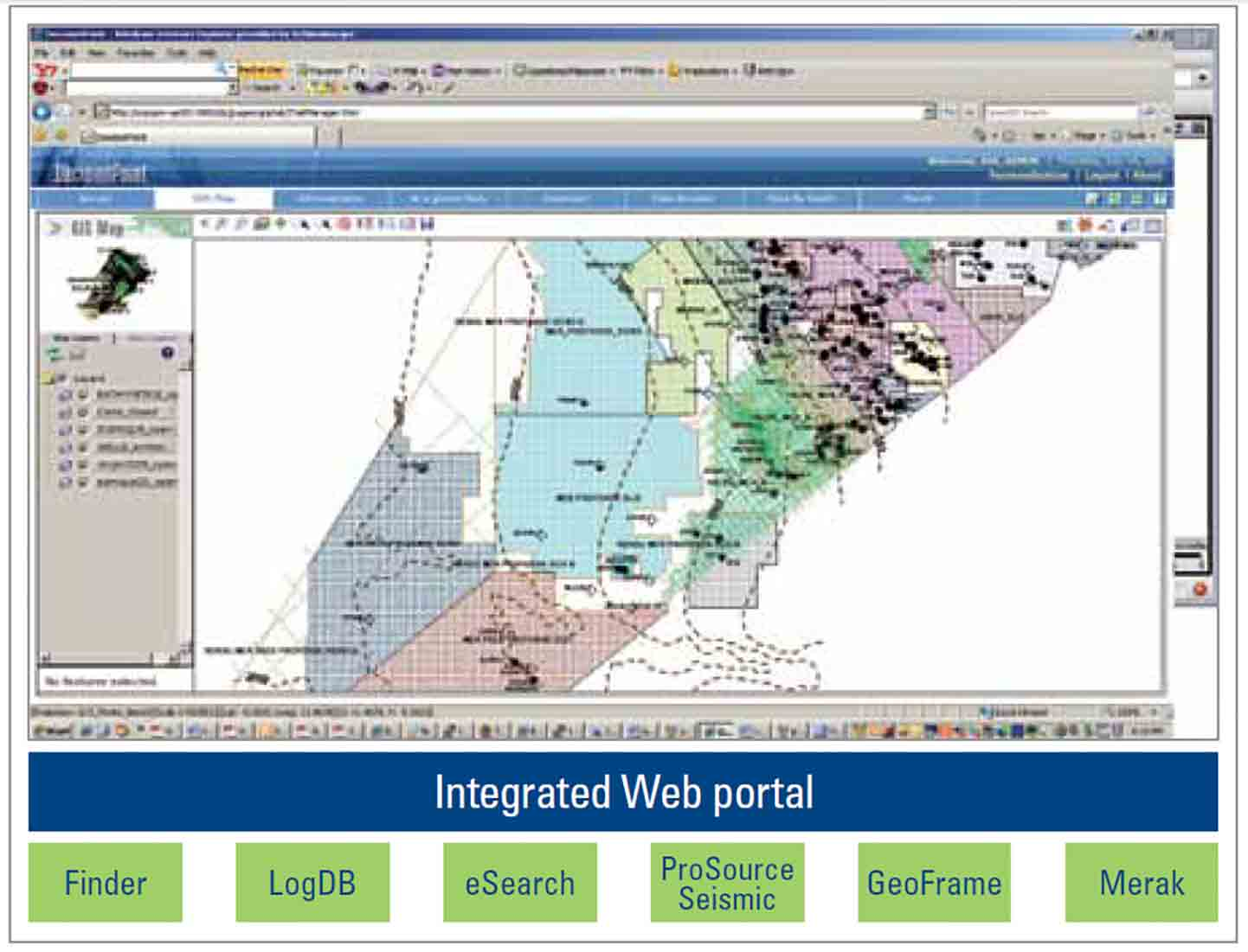 Snpc Integrates Seismic And Well Data Sources For Fast Secure Access Schlumberger