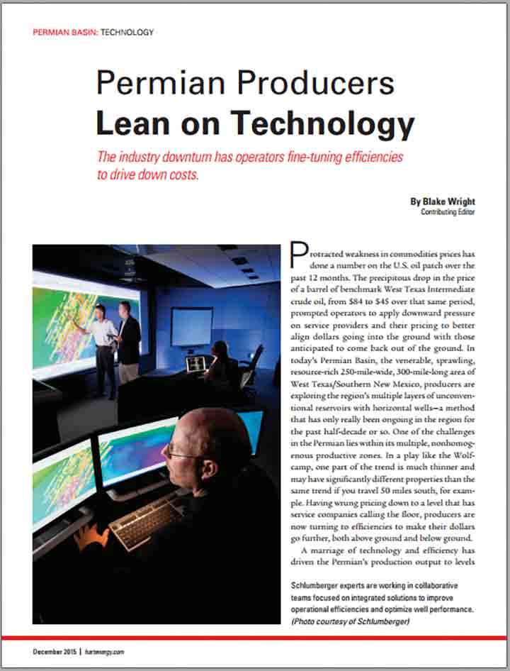 Permian Producers Lean on Technology
