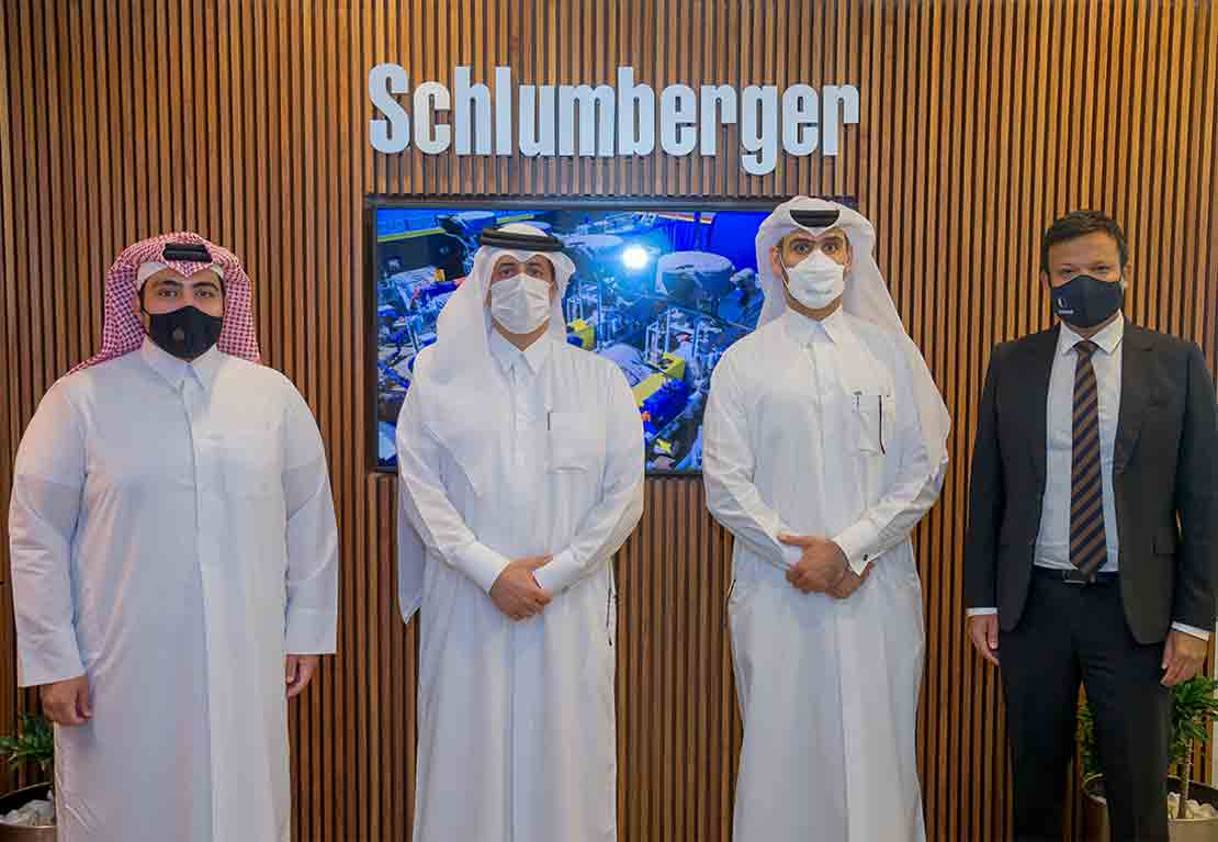 Schlumberger and Milaha commence stimulation vessel operations in Qatar ceremony