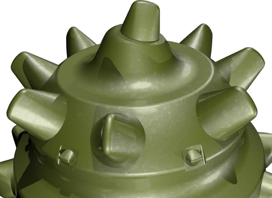 Xplorer Shamal roller cone bits