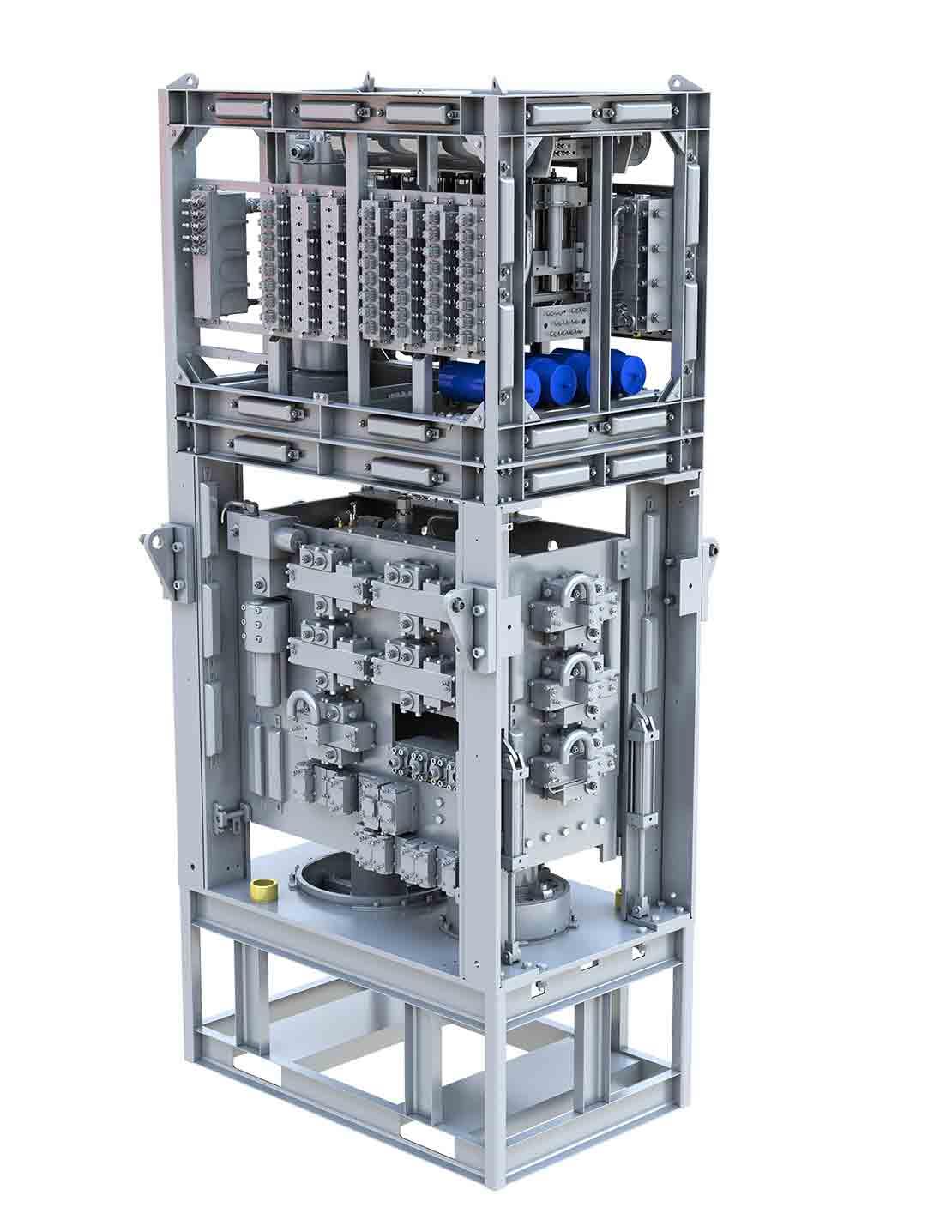 MARK III Subsea Multiplex Control Pod 3D Model