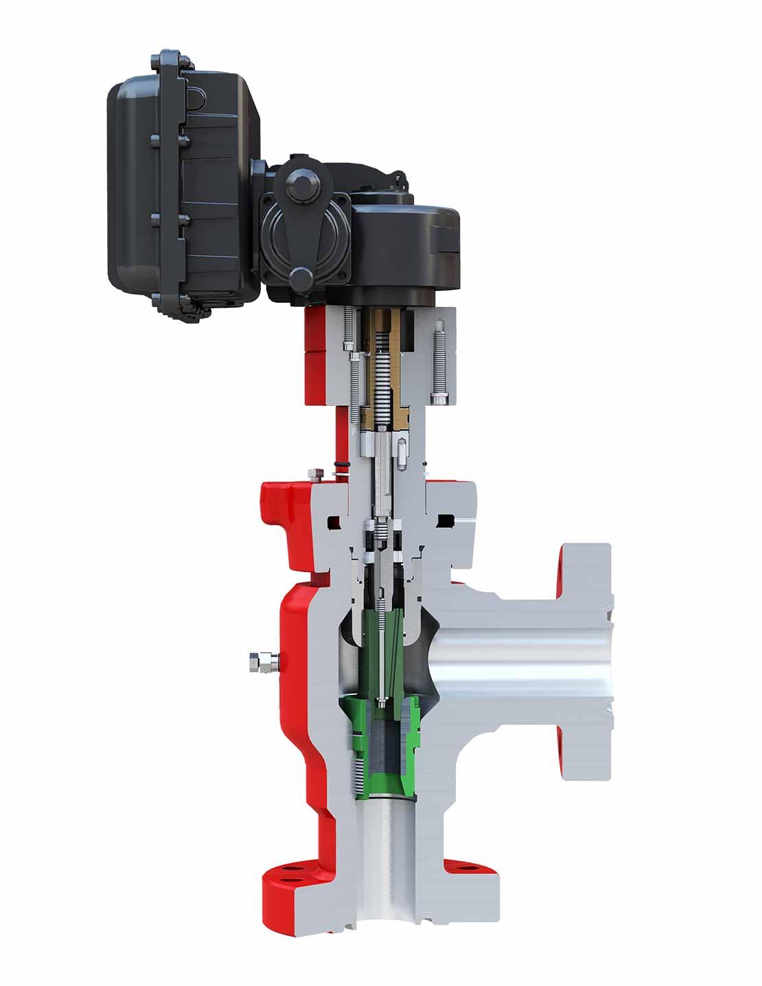 CAM30-DC Multitrim Drilling Choke 3D Cutaway