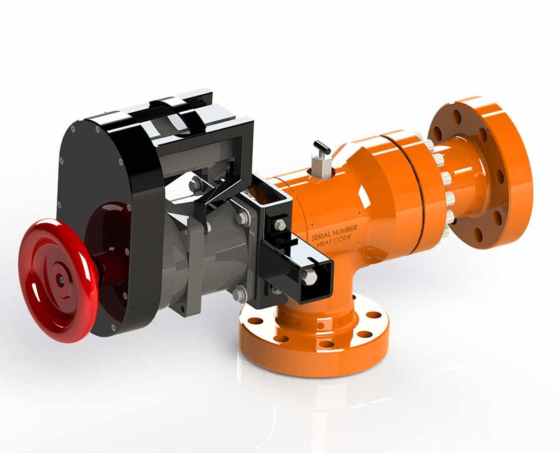 eCHOKE Electronic Actuating System 3D Model