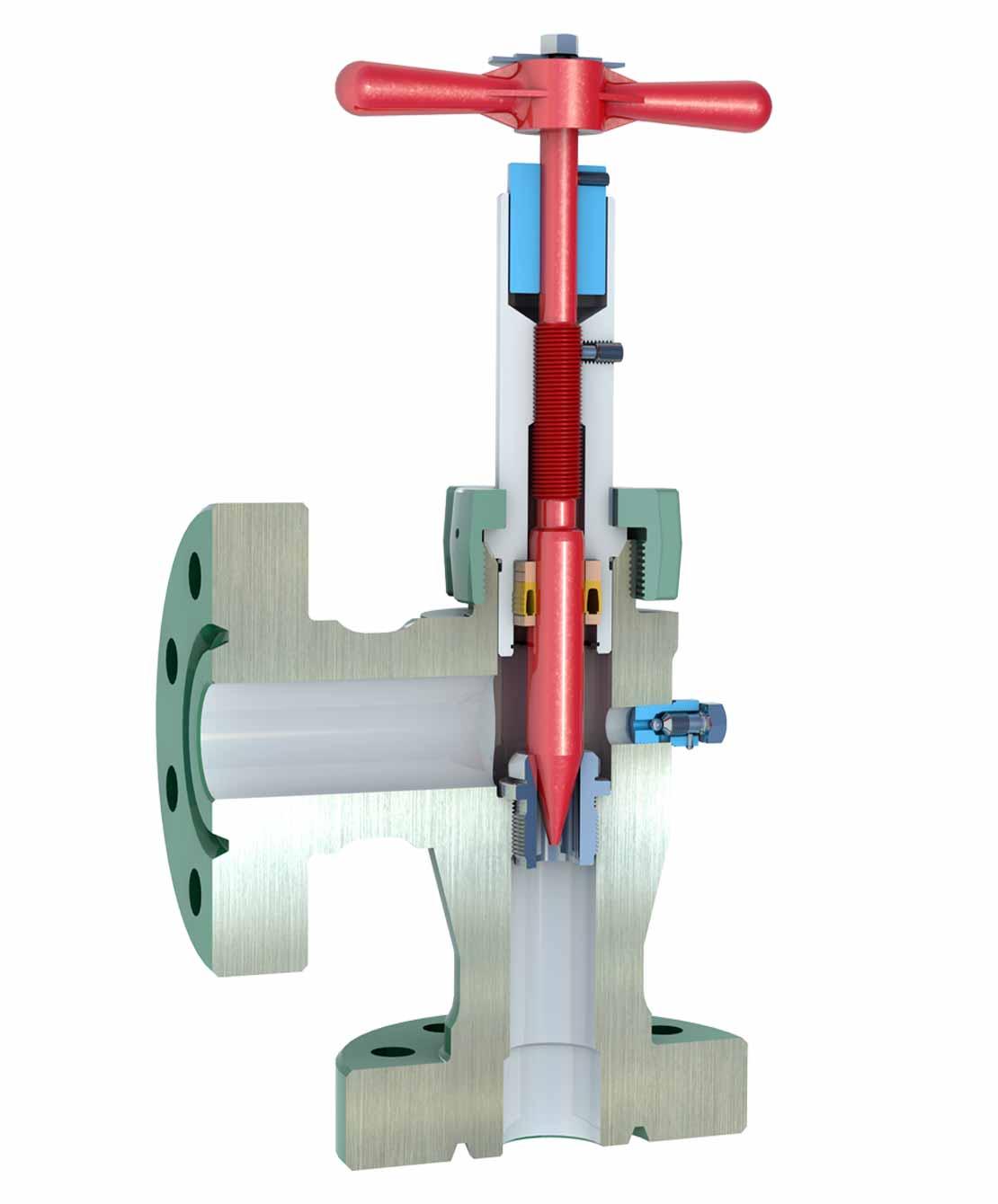 H2 Needle-and-Seat Choke 3D Model