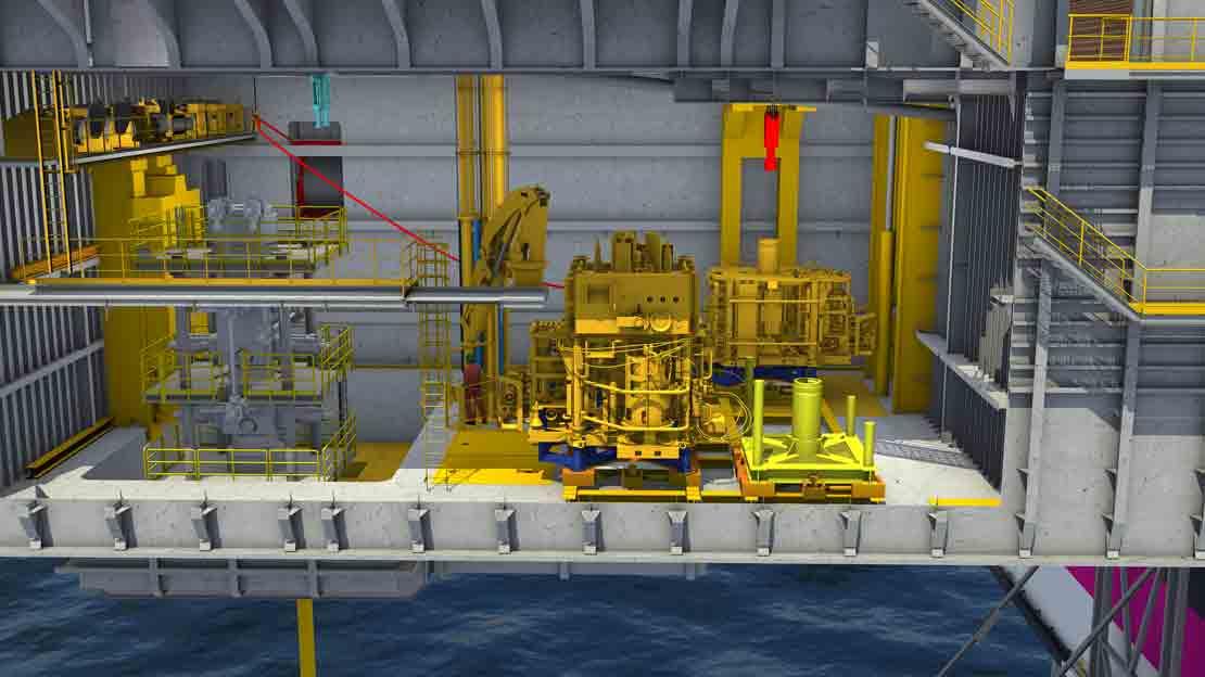 A complete range of BOP handling systems for semisubmersibles, drillships, platforms, and jack-ups