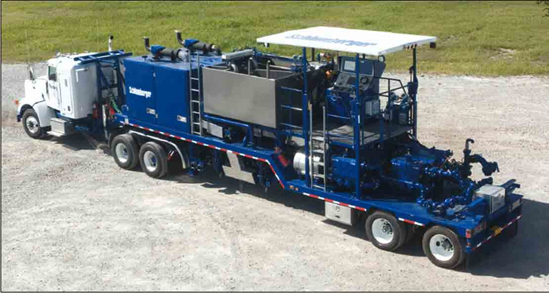 The CPF-377 double-pump cement trailer