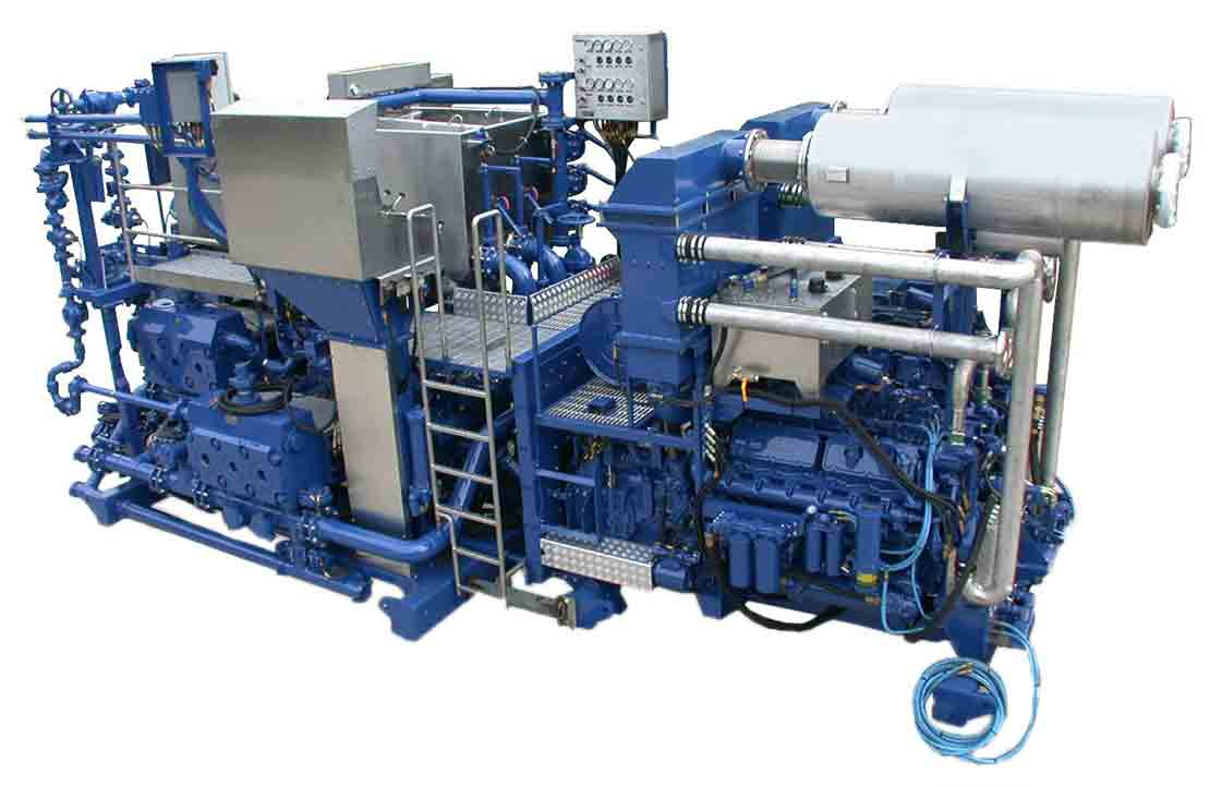 The CPS-665 cement-pumping skid