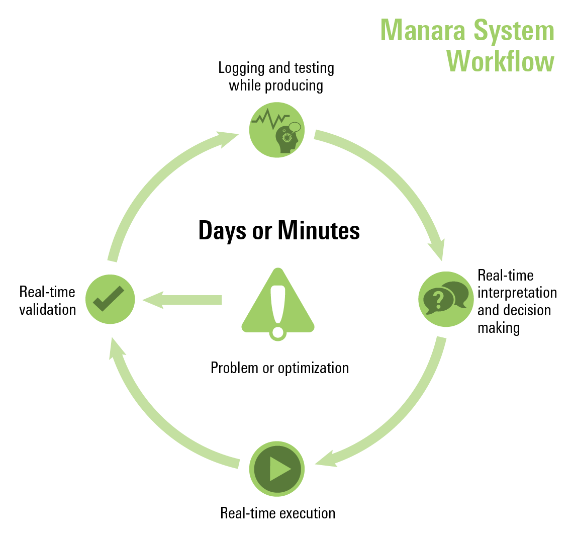 Manara system workflow with a more simplistic infographic