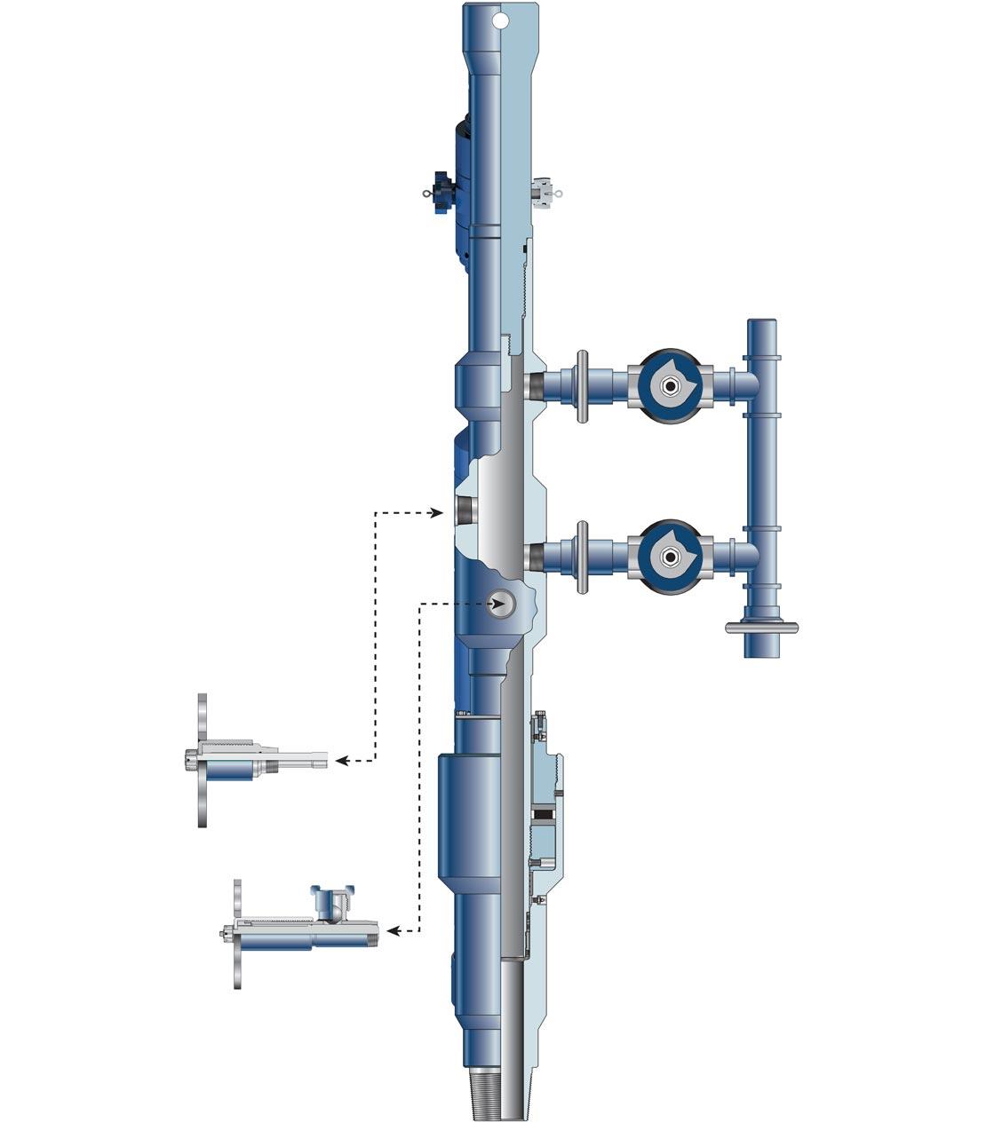 CMSB Solid-Body Cementing Manifold