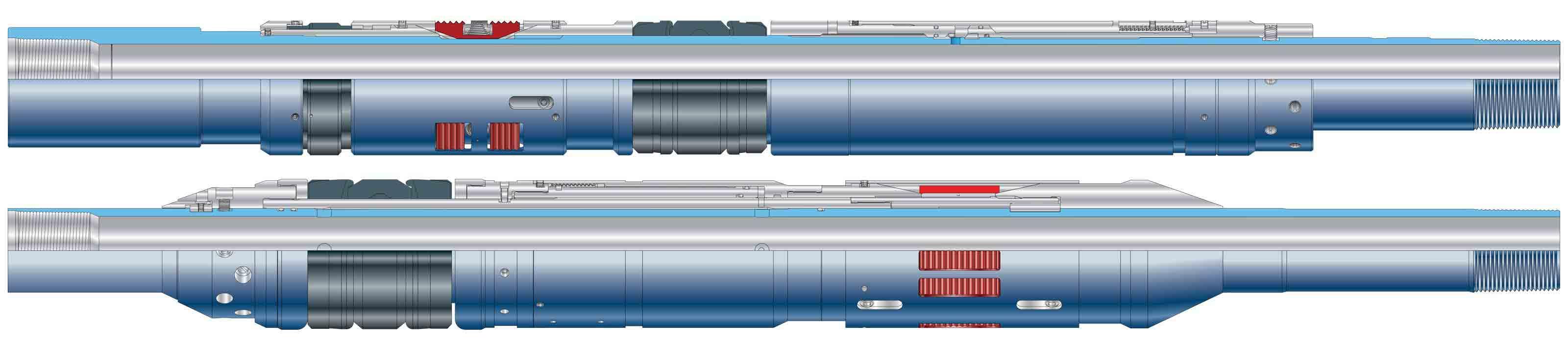 BluePack RH retrievable hydraulic-set production packer