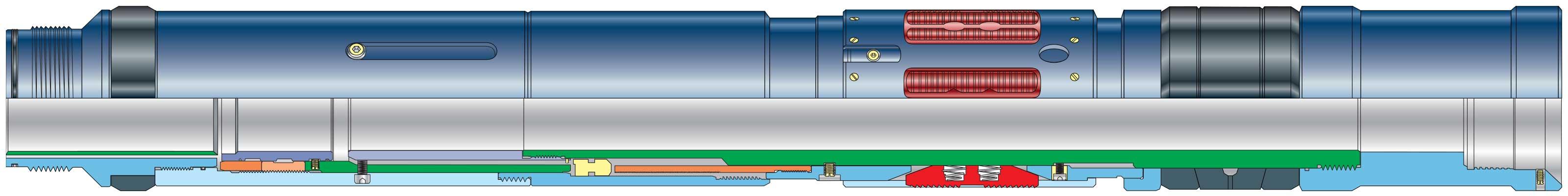 QUANTUM HSB Gravel-Pack Dual-Bore and Sealbore Packer