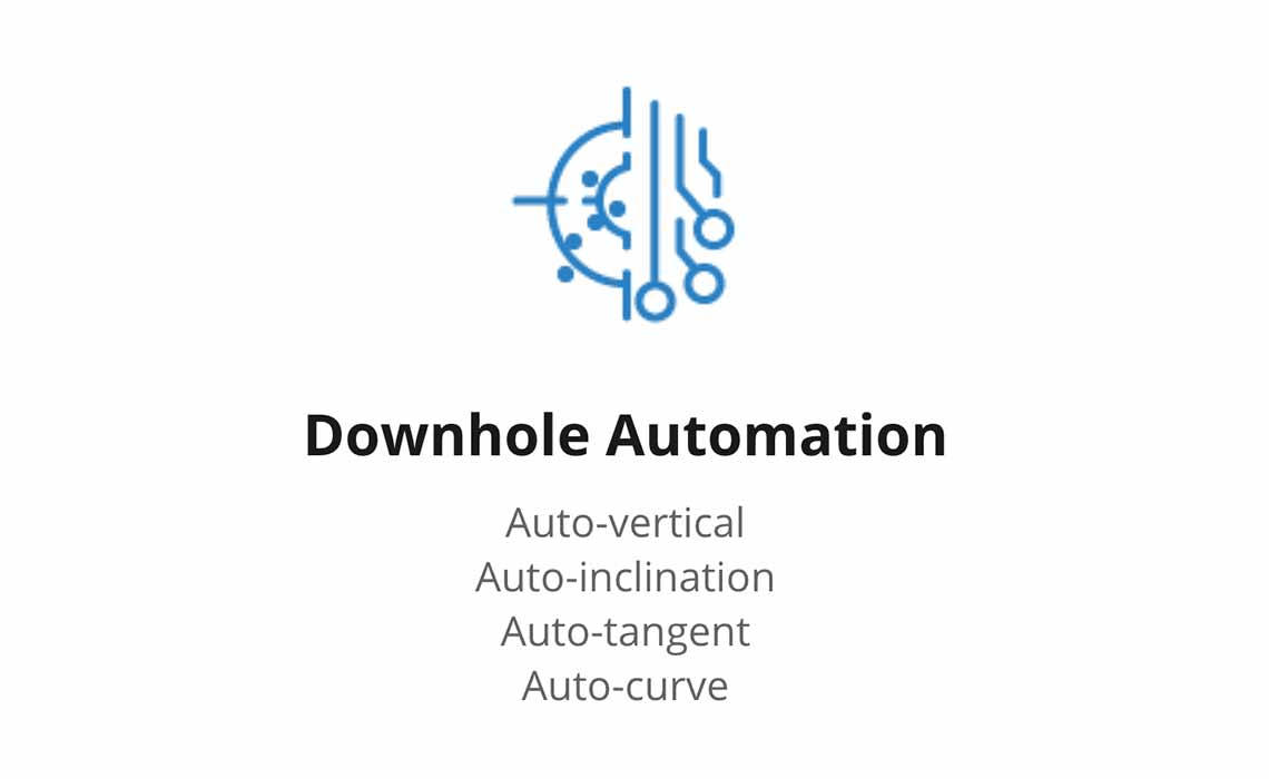 Downhole Automation icon with text underneath
