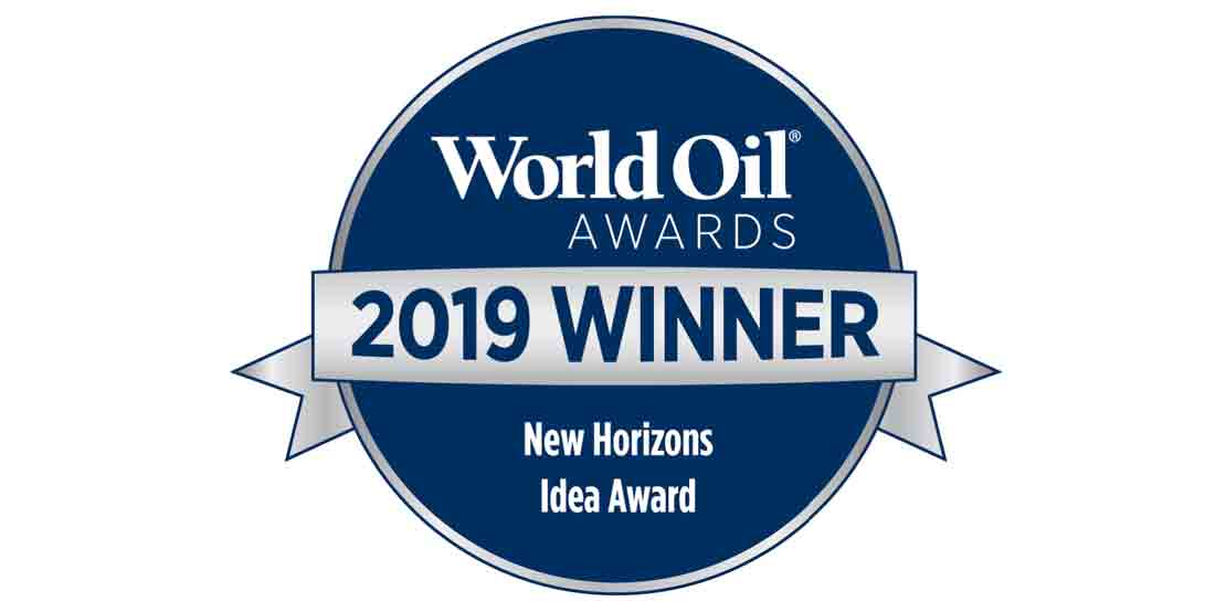 World Oil 2019 Winner New Horizons Idea Award