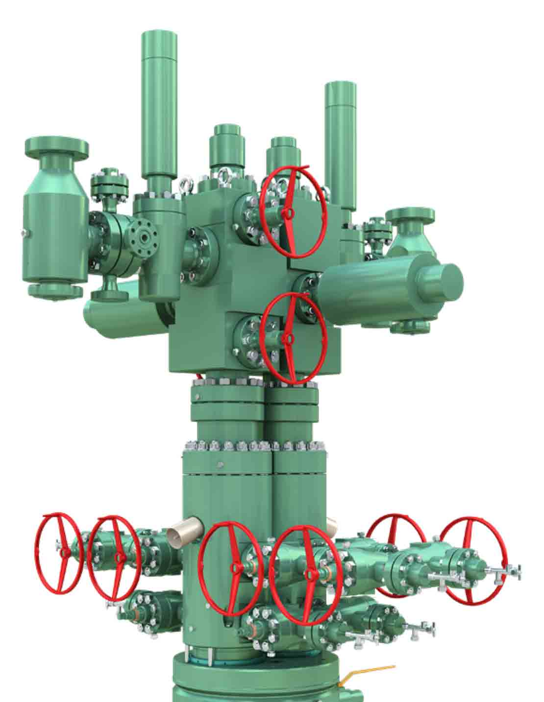 CSW Conductor-Sharing Wellhead System