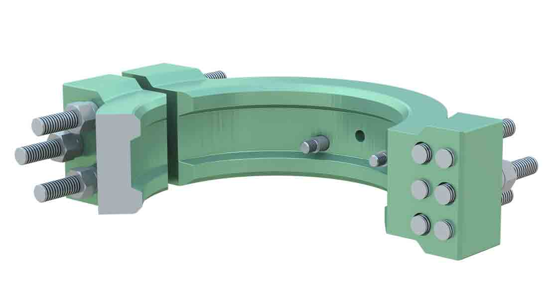 FastClamp Conventional API Ring Gasket Wellhead Connector