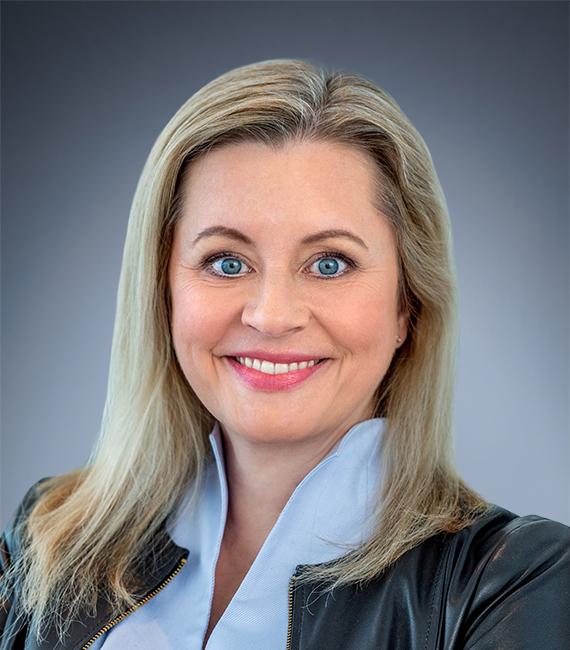 Headshot of Katharina Beumelburg, Chief Strategy and Sustainability Officer