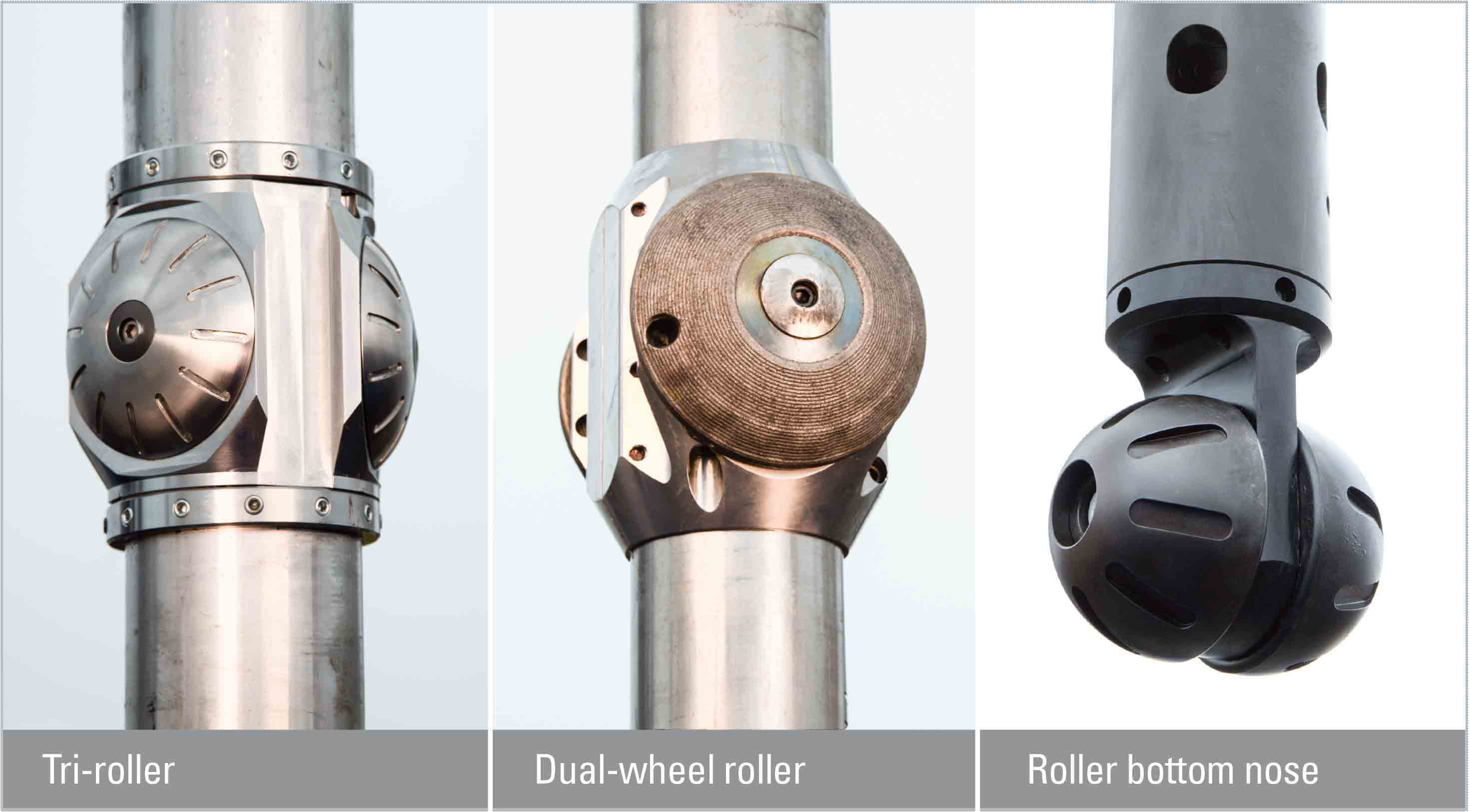 WellSKATE low-friction well-access accessories.