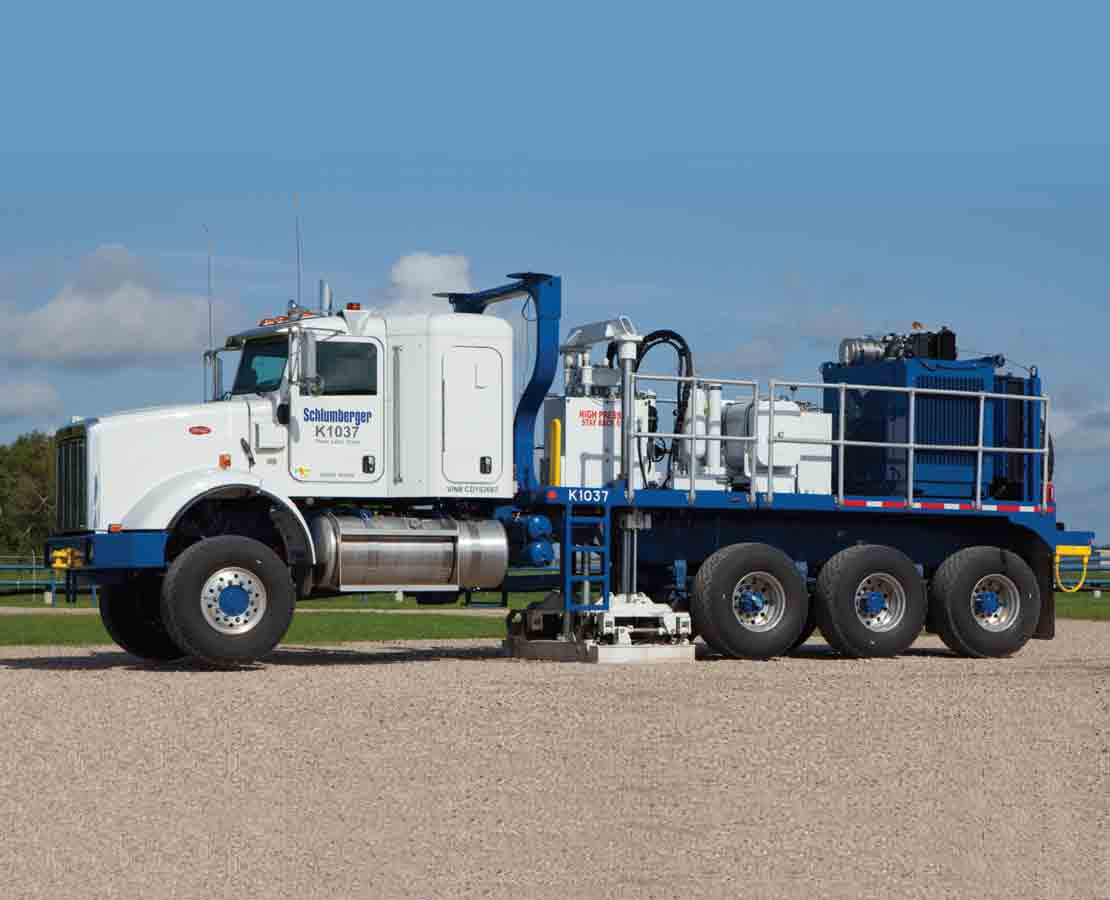 Q-Borehole truck