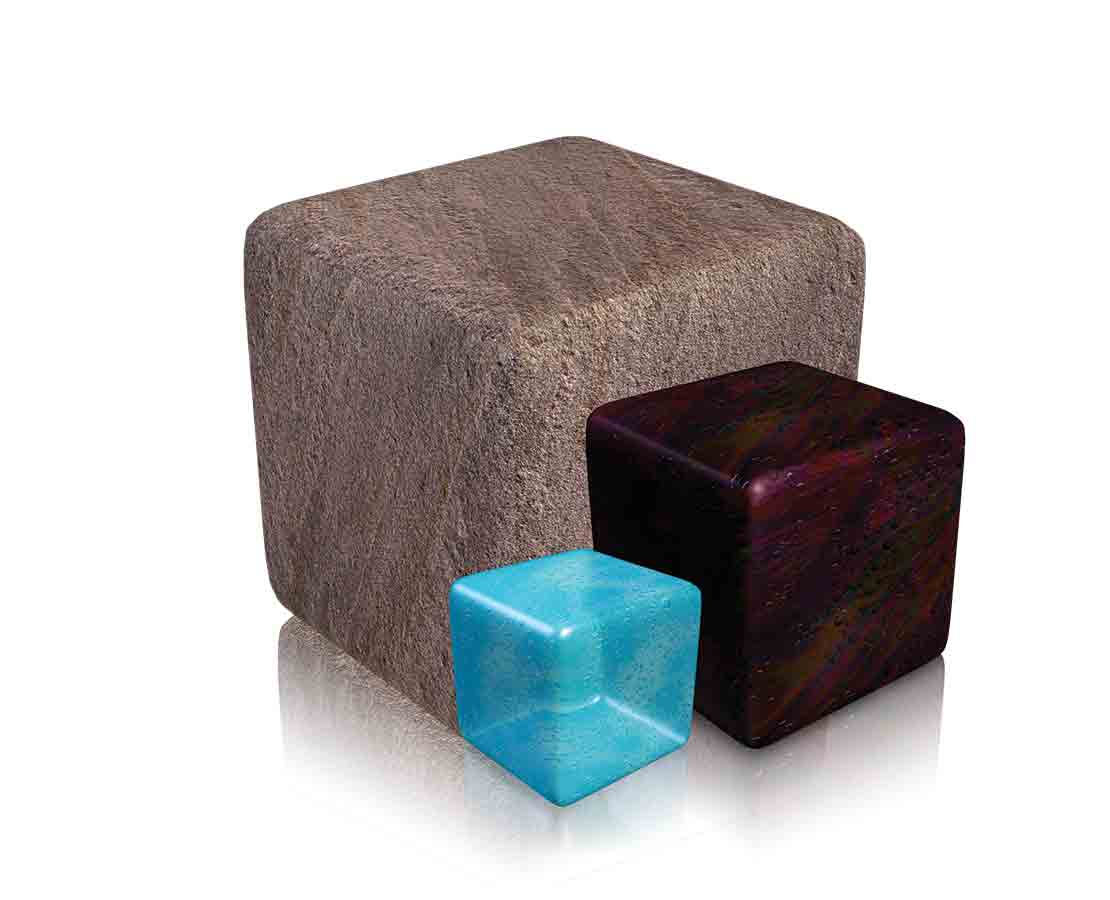 Dielectric Scanner cubes