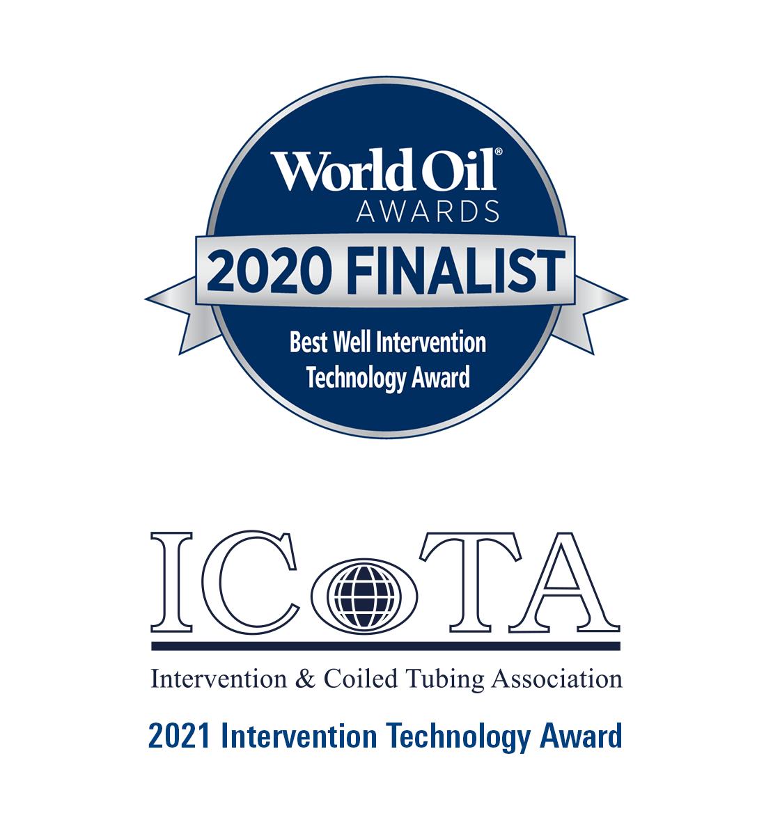 Schlumberger wins 2020 World Oil Best Well Intervention Technology Award and 2021 ICoTA Intervention Technology Award