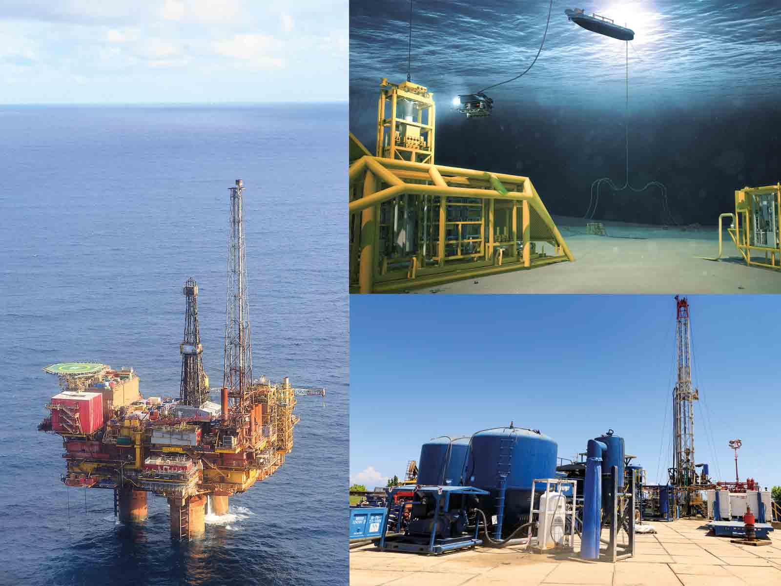 Subsea, land, and offshore plug and abandon operations.