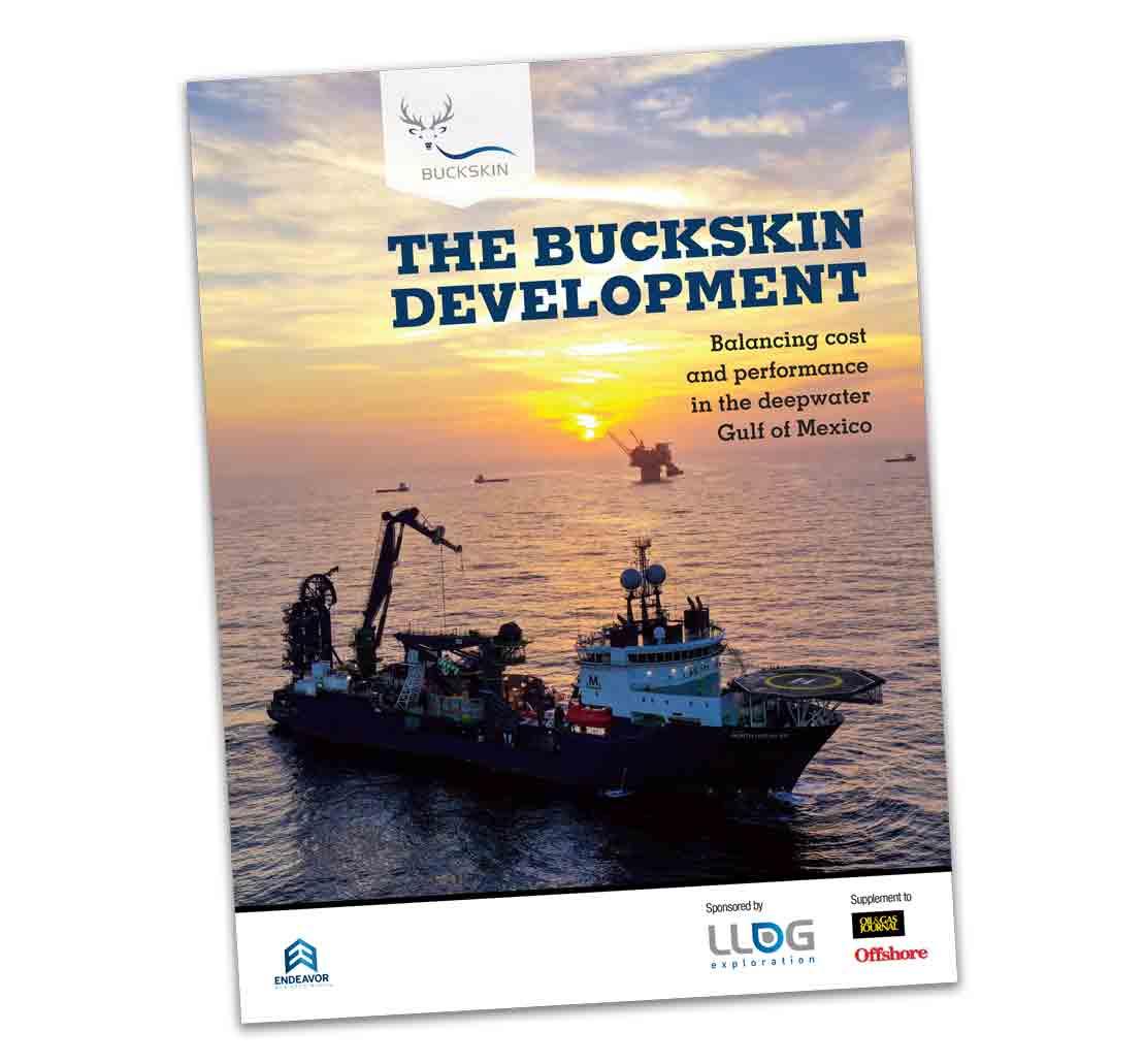 The Buckskin Development magazine cover