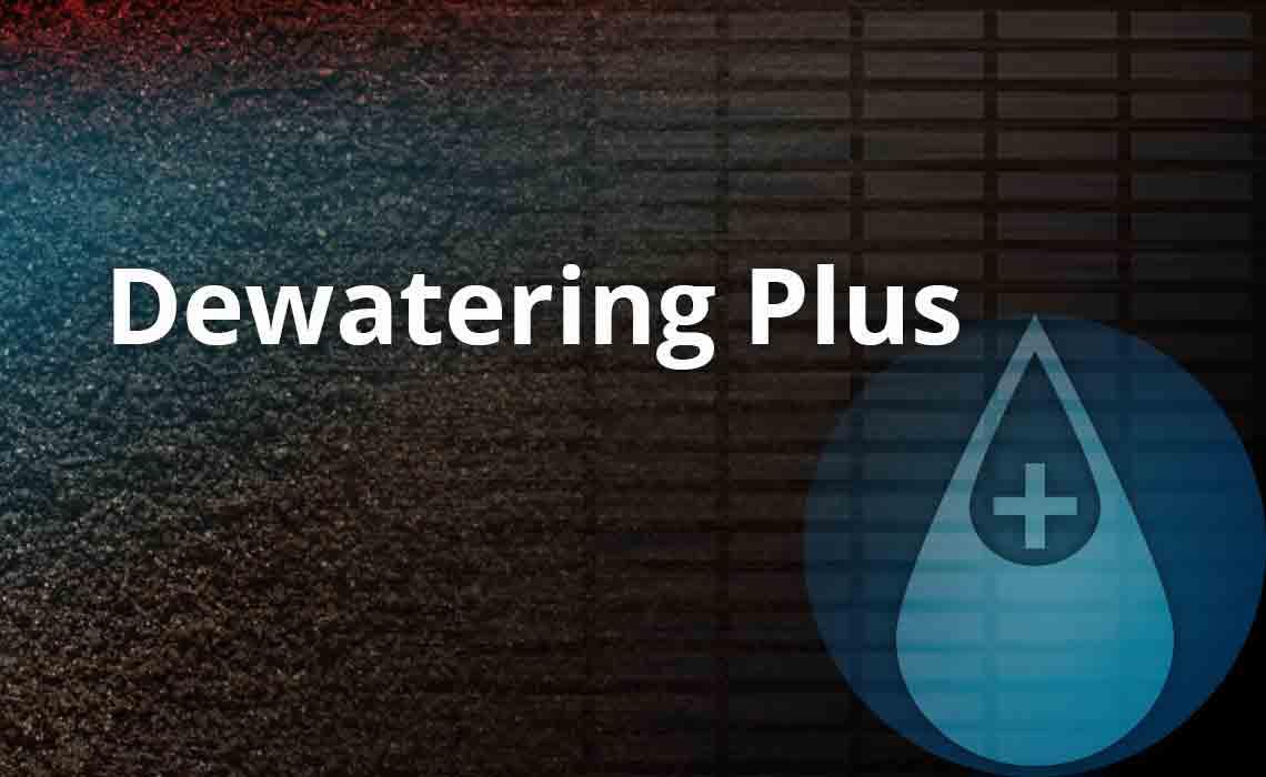 Dewatering Plus logo.