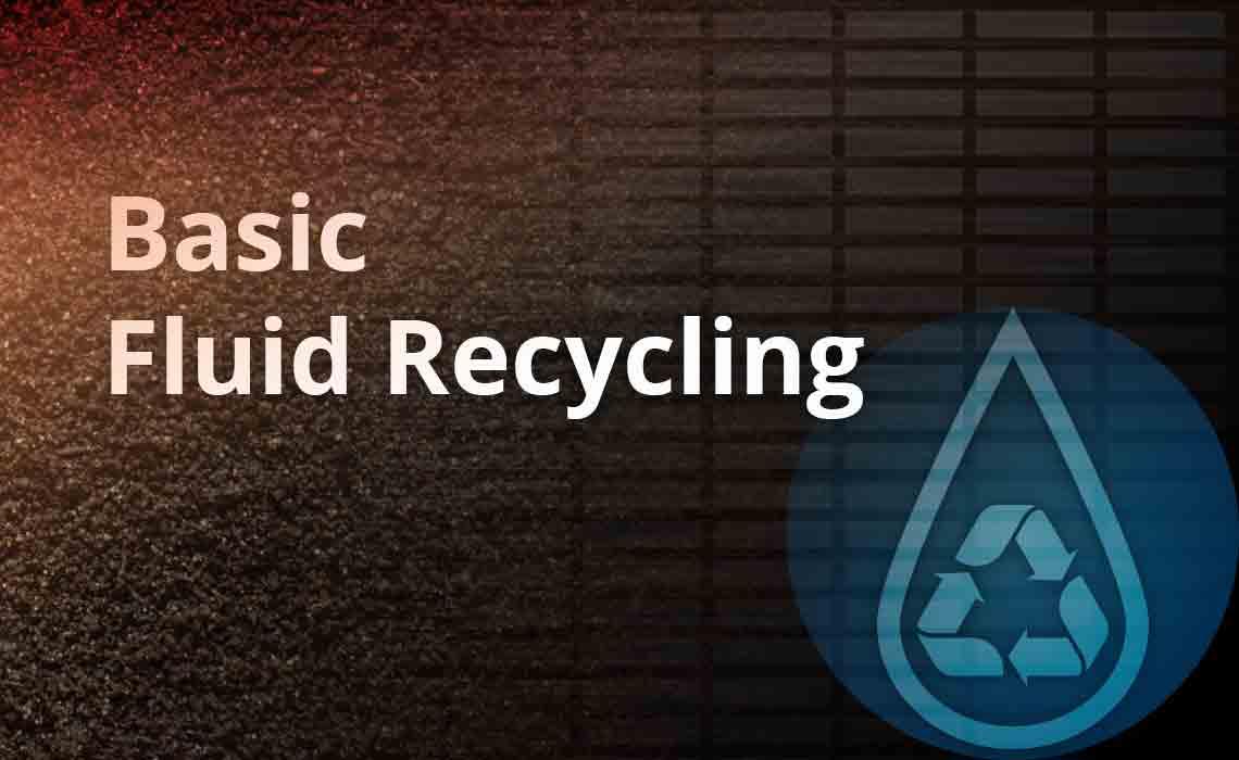 Fluid Recycling logo.