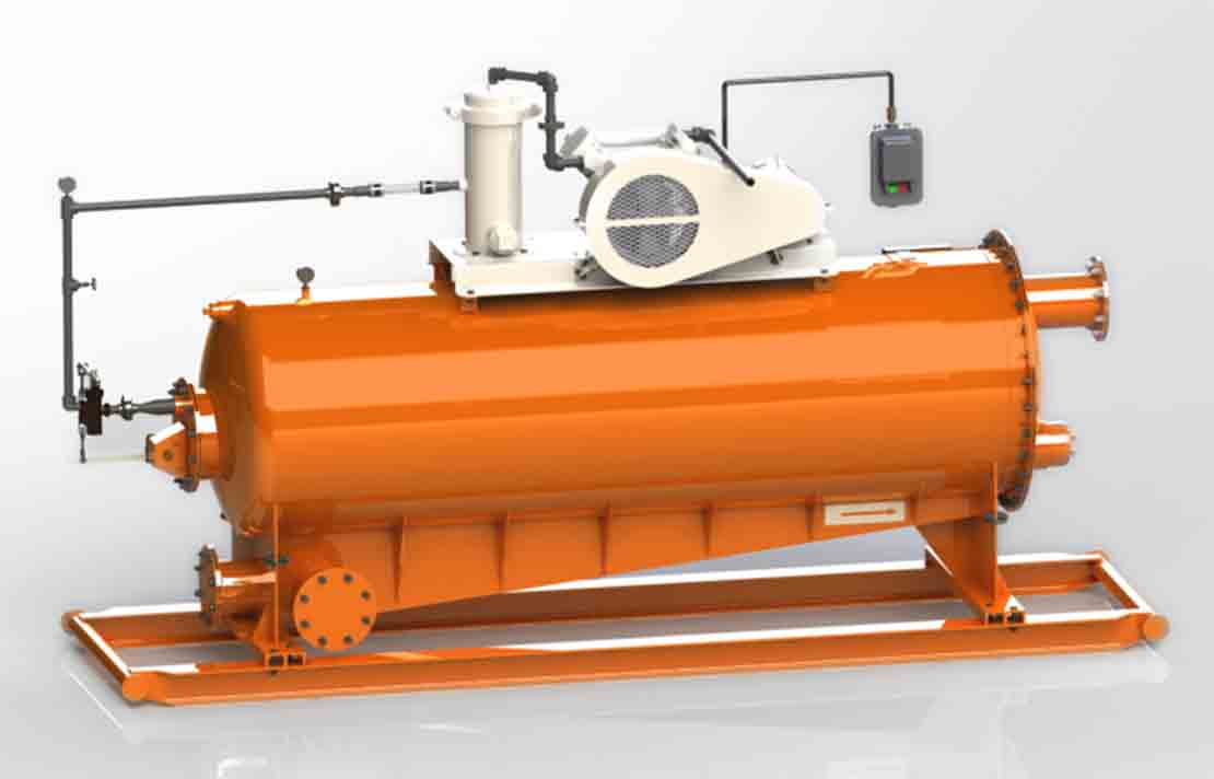 The M-I SWACO Horizontal Vacuum D-GASSER