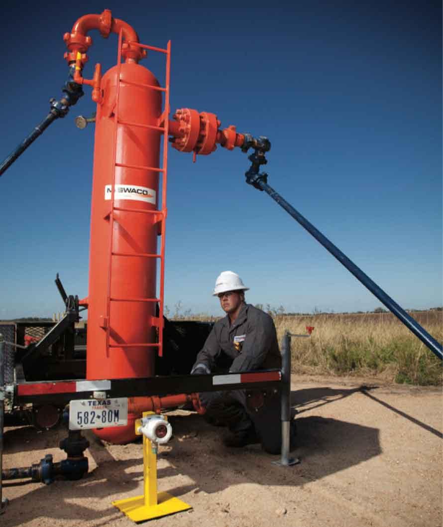 MUD GAS SEPARATOR primary drilling fluid gas unit