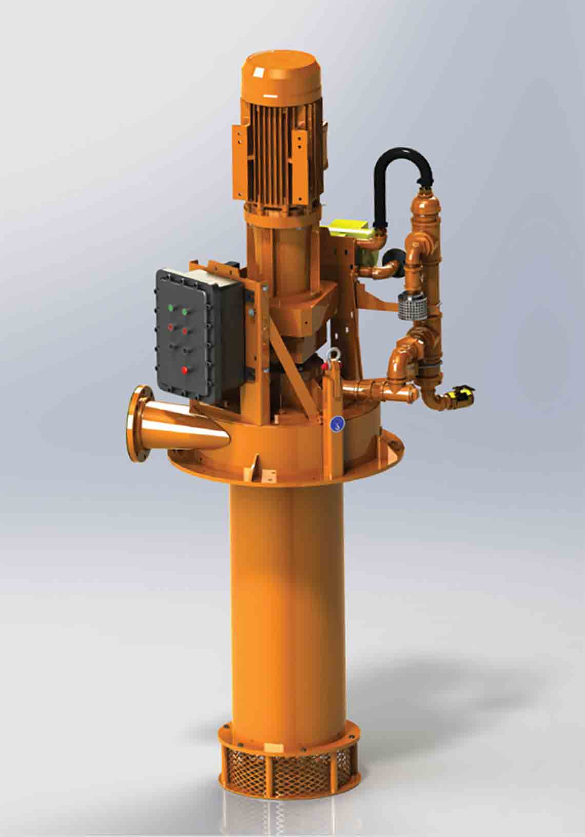 HORIZONTAL D-GASSER vacuum unit