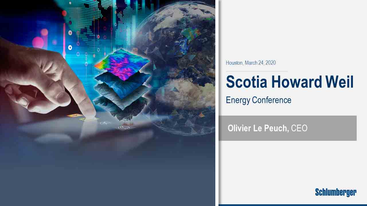 Le Peuch Interview Comments at Scotia Howard Weil Energy Conference 2020