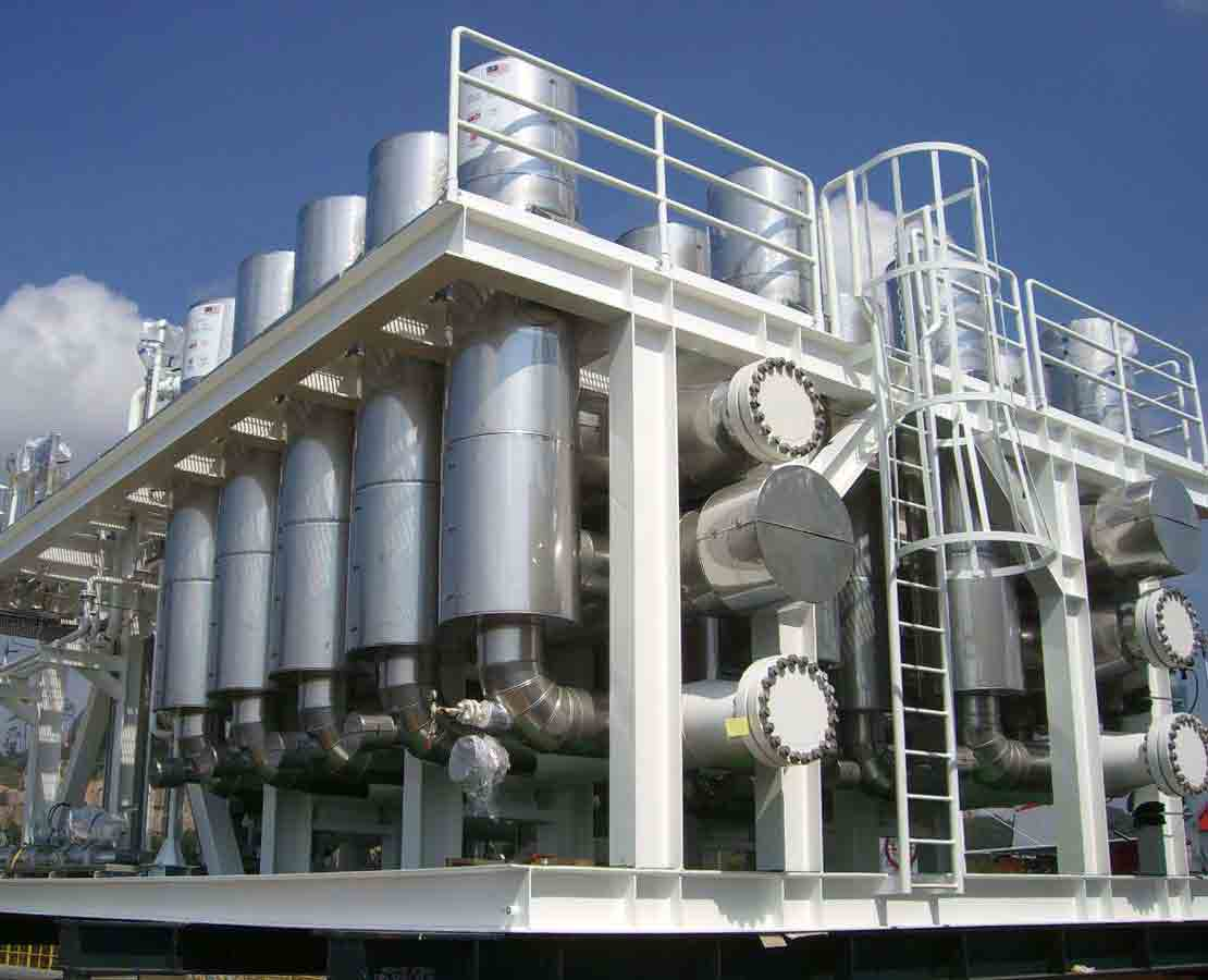 Cynara gas treatment facility