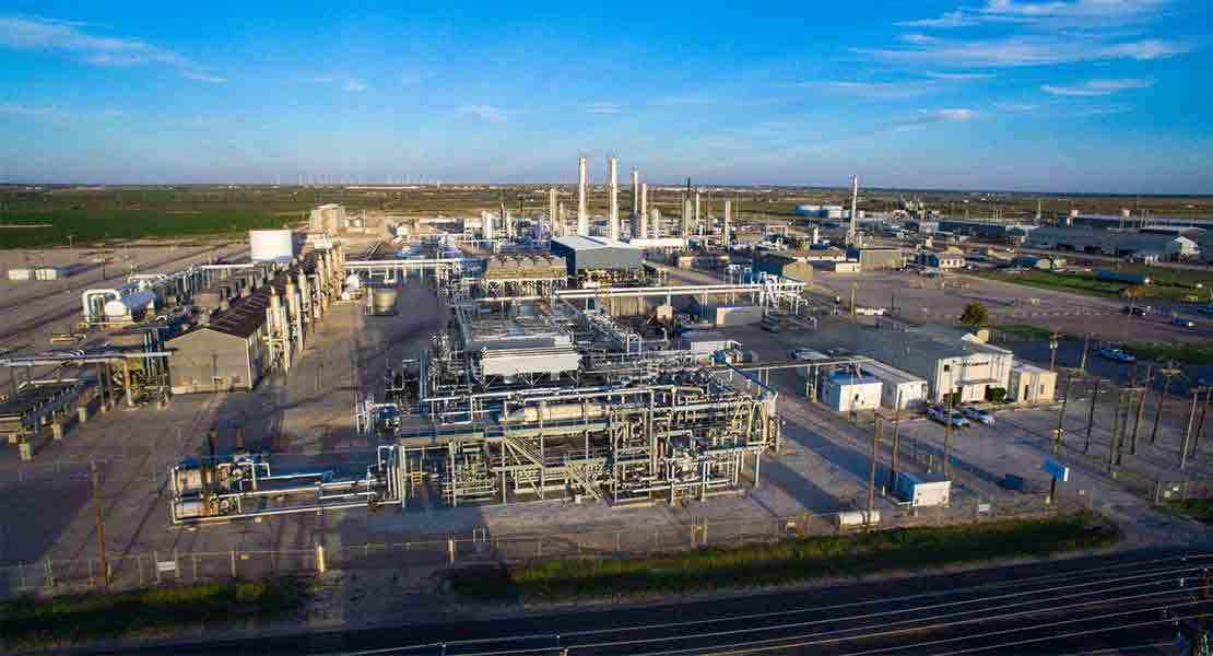 Gas treatment facility