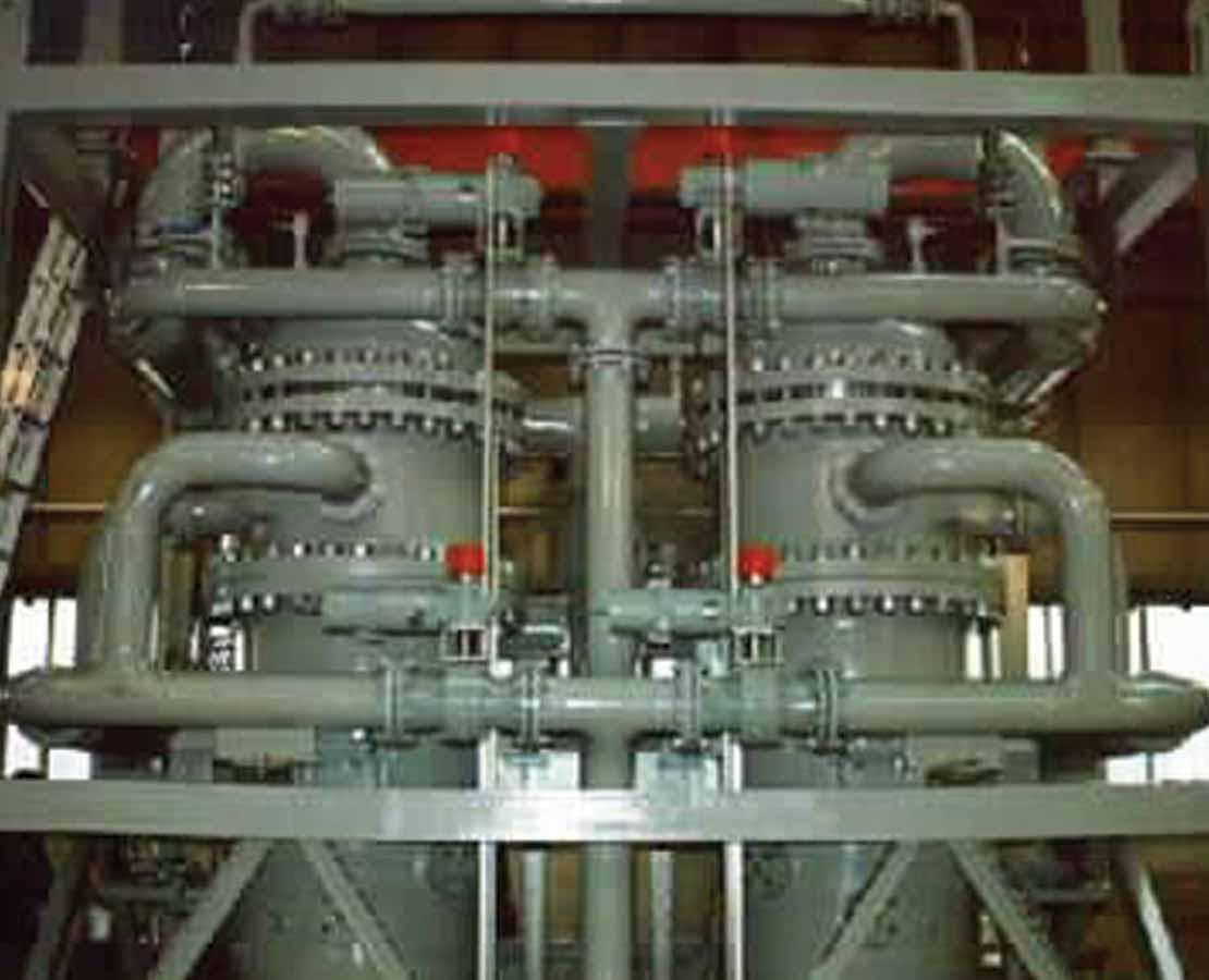MOZLEY Desanding Hydrocyclone solids-water separators