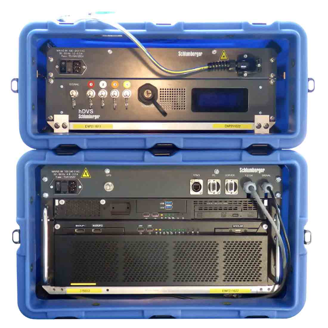 Interrogator unit of the hDVS DAS system.
