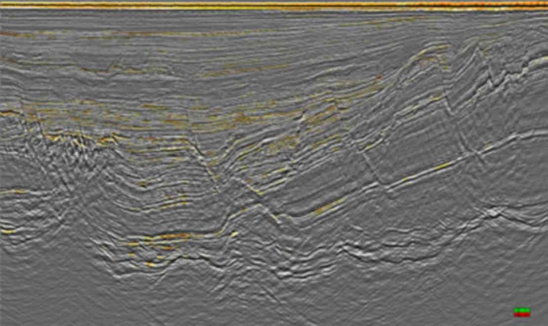 High-resolution 3D seismic data